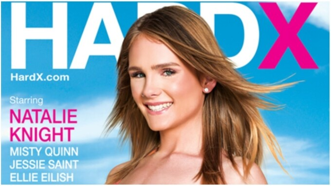 Natalie Knight Stars in Latest Hard X 'Creampies' Fantasy