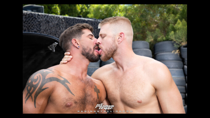 Sean Maygers Hits 'Maximum Torque' for Raging Stallion