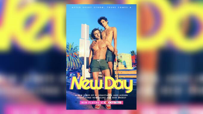 CockyBoys Touts 'New Day' With Austin Avery, Newbie Zeke Wood