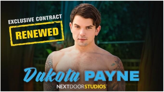 Dakota Payne Renews Exclusive Contract With Next Door Studios