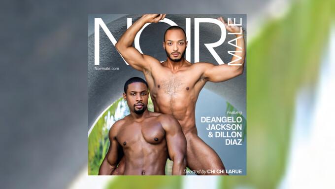 DeAngelo Jackson, Dillon Diaz Headline 'Sexual Healing 3' for Noir Male