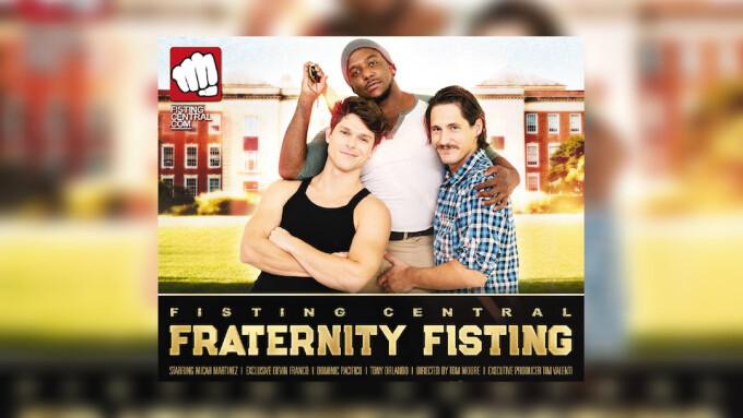 Devin Franco Pledges Hardcore 'Fraternity' for Fisting Central