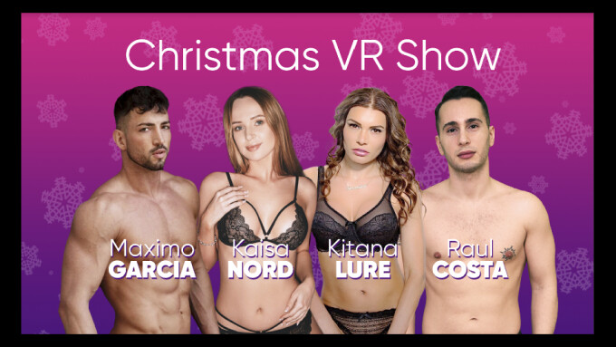 Three Platforms Team for Xmas Day Live VR 'Sex Spectacular'