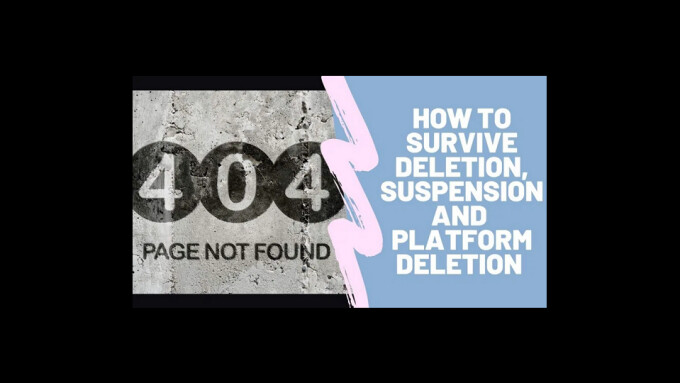 Amberly Rothfield Pens Guide for Models on 'Platform Deletion'