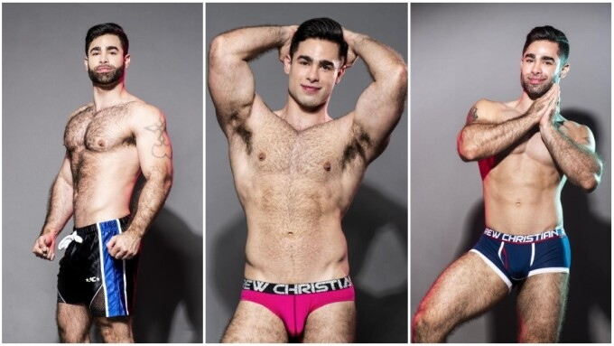 Lucas Leon Crowned Newest Andrew Christian 'Trophy Boy'