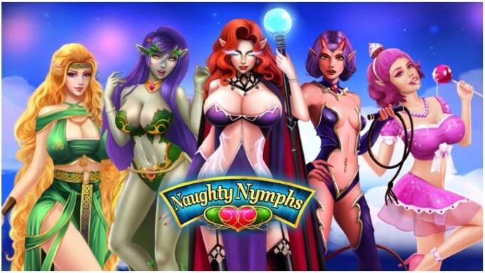 Nutaku Casual Puzzle Game Naughty Nymphs hentai game