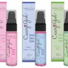 Crazy Girl Oral Sex Gel