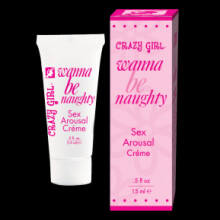 Crazy Girl Wanna Be Naughty - Sex Arousal Crème