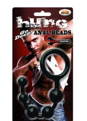 Hung - Anal Beads - black