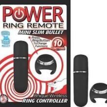 Power Ring Remote Mini Slim Bullet