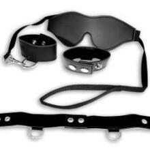 S&M Black Bondage Kit