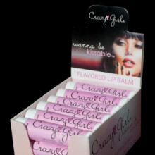 Crazy Girl Wanna Be Kissable Lip Balm Display