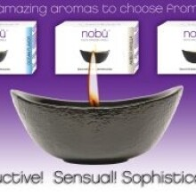 Nobu Massage candles