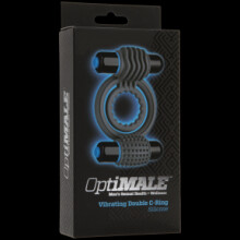 OptiMALE - Vibrating Double C-Ring - Slate
