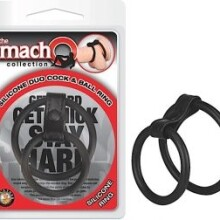 MachO Collection Silicone Duo Cock & Ball Ring