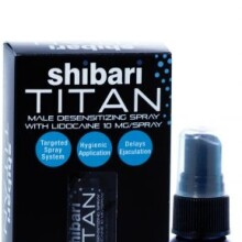 Shibari Titan Male Desensitizing Spray with Lidocaine