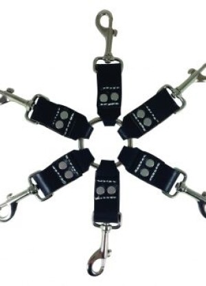 Edge Leather 6 Point Hog Tie
