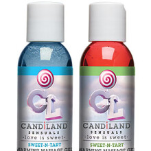 CANDiLAND Sensuals – Sweet-N-Tart Warming Massage Gels