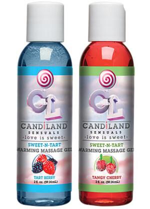 CANDiLAND Sensuals – Sweet-N-Tart Warming Massage Gels