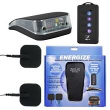 ZEUS Energize Remote Control Estim Power Box with Sound Control