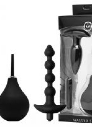 Master Series Prevision 4 Piece Silicone Anal Kit