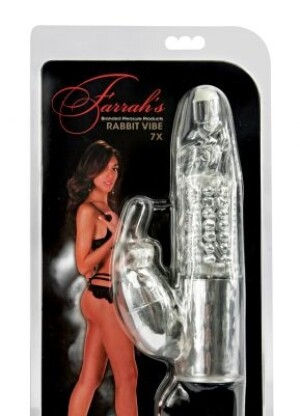 Farrah's Branded Pleasure Products 7x Rabbit Vibe