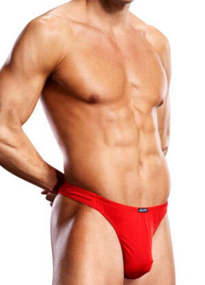 Blue Line Thong (Red) - ElectricDistro
