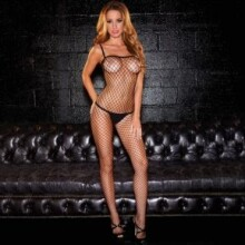 Crotchless Fencenet Bodystocking
