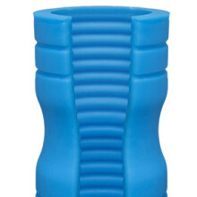 Platinum TRUSKYN – The Tru Stroke – Ribbed - Blue