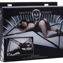 Master Series Interlace Over and Under the Bed Restraint Set