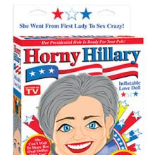Horny Hilary