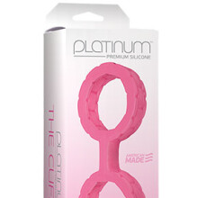 The Cuffs in Platinum Premium Silicone