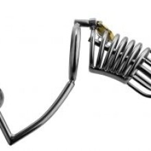 Master Series Condemned Penetration Cage with Anal Insertion