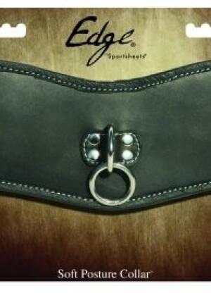 Soft Leather Posture Collar