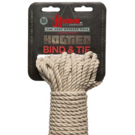 Kink by Doc Johnson – Bind & Tie Hemp Bondage Rope – 50 Ft