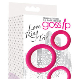 Gossip Love Ring Trio