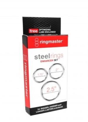 Steel Enhancer Ring Set