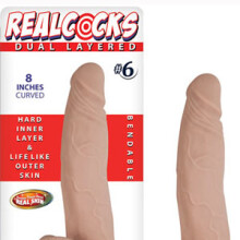 Real Cocks Dual Layered 8""