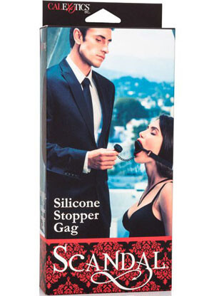 Silicone Stopper Gag