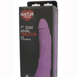 """7"""" Slim Anal Vibrator With 7 Functions"""