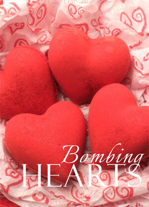 Come Hither Bombing Bath Bombs Hearts