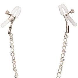 Crystal Chain Nipple Clamps