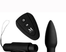Mistress Isabella Sinclaire Remote Control Cock Ring and Anal Plug Set