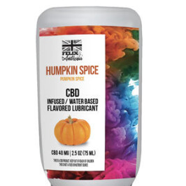 Humpkin Spice CBD-Infused Water-Based Flavored Lube