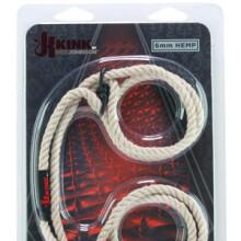 Hogtied Bind & Tie Wrist or Ankle Cuffs