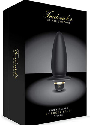 """Frederick's of Hollywood Rechargeable 4"""" Booty Plug"""