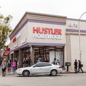 Hustler Hollywood Grand Opening