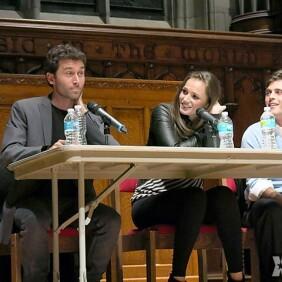 James Deen & Tori Black Speak at Washington Univ. 'Sex Week'