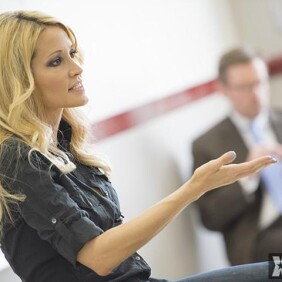 Jessica Drake Speaks at Pasadena City College
