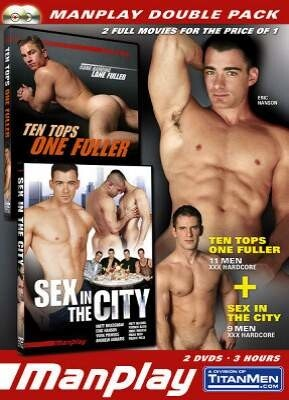 Manplay Double Pack - Ten Tops and Sex in the City